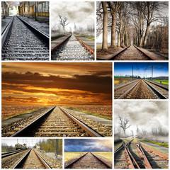 ferrovia collage