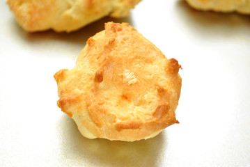 Close-Up of a Cooked Biscuit