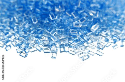 plastic polymer granules - 62814826