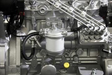 Modern engine used on marine industry