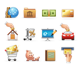 Finance and Savings - Harmony Icon Set 12