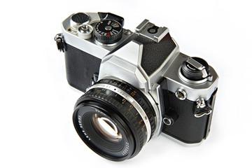 Vintage SLR camera