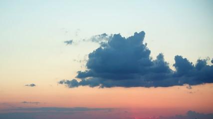 Sky timelapse.