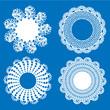 Napkin elegant design elements