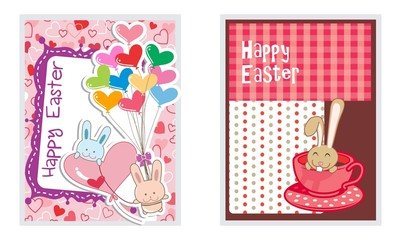 card-set-happy easter