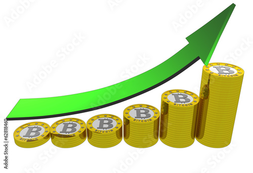 bitcoins evolution up