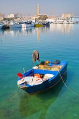 Boat. Monopoli. Puglia. Italy.