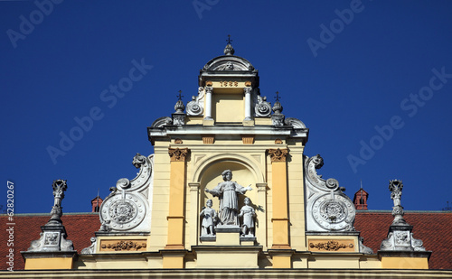 Museum of Arts and Crafts in Zagreb, Croatia