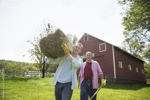 A family summer gathering at a farm. A shared meal, a homecoming.
