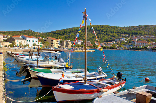 Town of Vinjerac pictoresque harbor