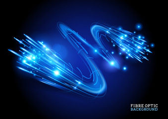 Fibre Optic Background