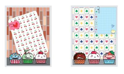 card-set-cupcake-docinhos-festa-kawaii