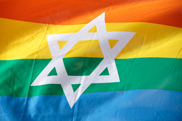 Israel Rainbow Flag