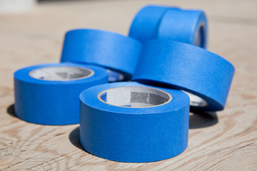 Blue tapes