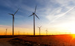 Energias renovables. Parque eolico. Turbinas de viento - 62824890