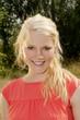 canvas print picture - hübsche Blondine