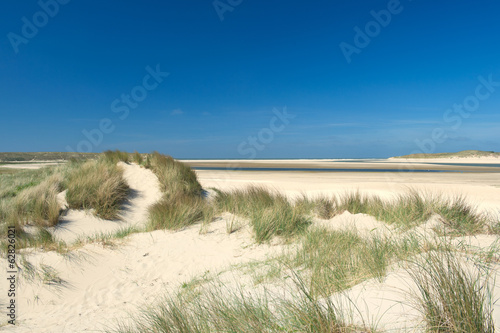 canvas print picture Sand dunes at the coast
