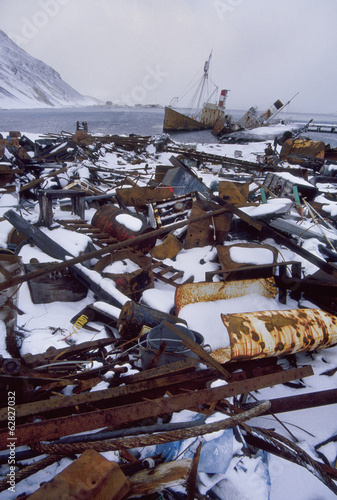 Abandoned whaling station, Grytviken, South Georgia Island