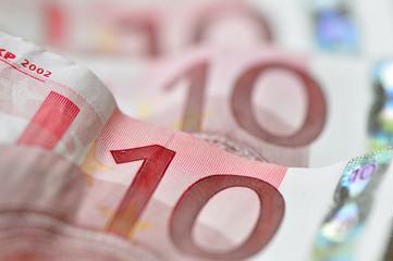 Billets  de dix euros