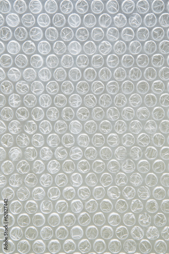 Close up of bubble wrap, used for packaging
