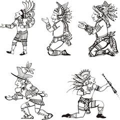 Maya characters
