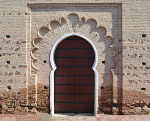 Porte mosquée de la Koutoubia
