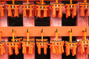 Offering gate, Fushimi Inari Shrine, Kyoto, Japan