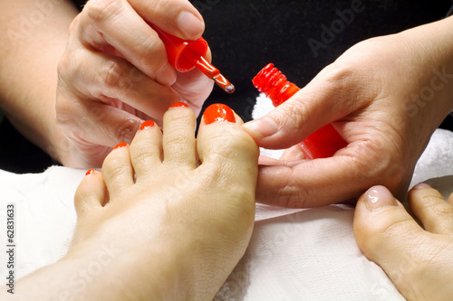 professional pedicure