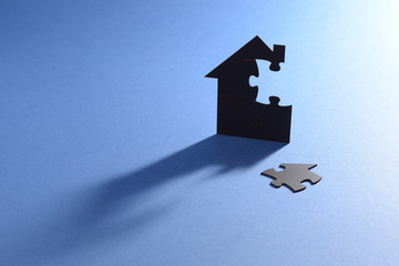jigsaw puzzle house