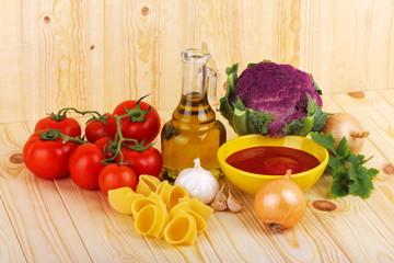 Cucina tipica mediterranea