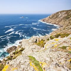 Finisterre cape, La Coruña, Spain.