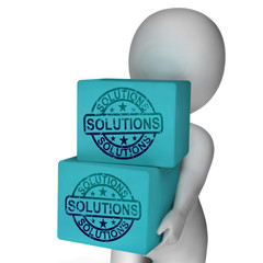 Solutions Boxes Mean Solving Market And Product Problems