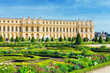 Pond in front of the Royal residence at Versailles near Paris in