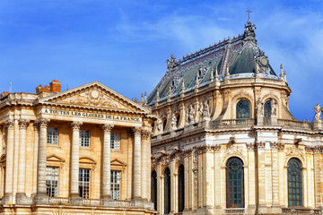 Versailles Castle. Famous Royal Chapel . Paris.