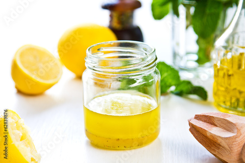 Lemon dressing