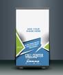 Call Center Roll Up Banner Design