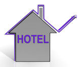 Hotel House Means Holiday  Accommodation And Vacancies poster