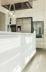 Modern kitchen, interior of a new house