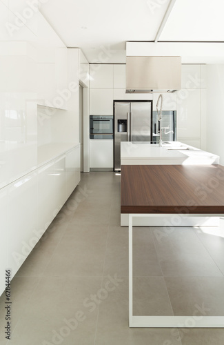 Interior of modern house, kitchen