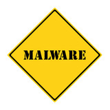 Malware Sign poster