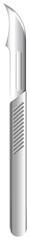 A disposable scalpel