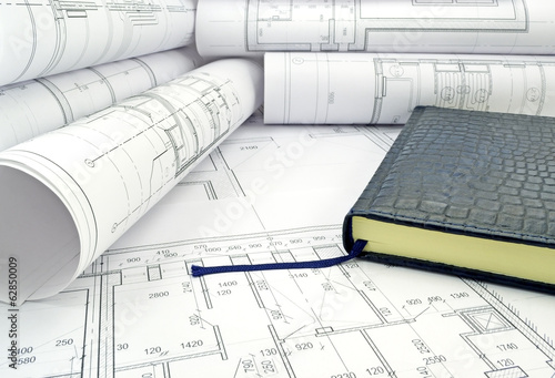 Book in design drawings