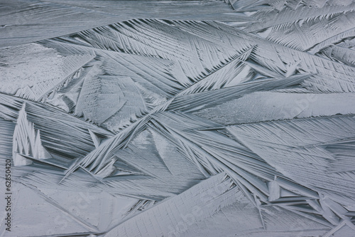 Ice crystals, Jasper National Park, Alberta, Canada