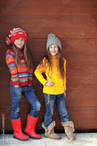 Little fashion girls