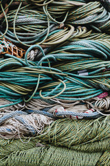 Commercial fishing nets