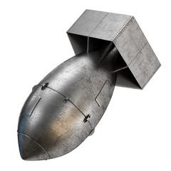 Aviation metal bomb