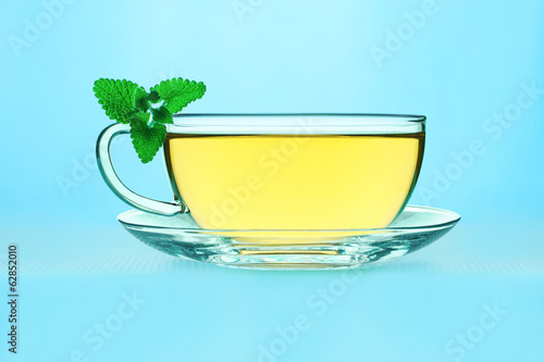 Tea with lemon balm