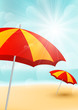 Summer beach background for Your design