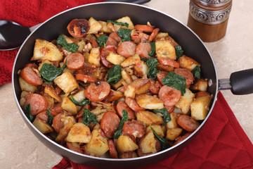 Kielbasa Potato Meal