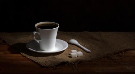 coffee in rural still
